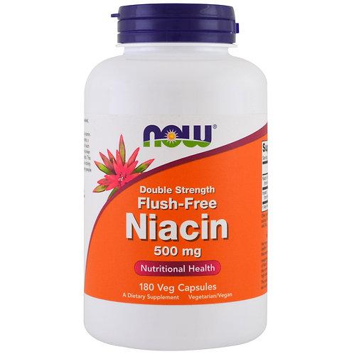 NOW -Niacin 500 мг 100 капсул