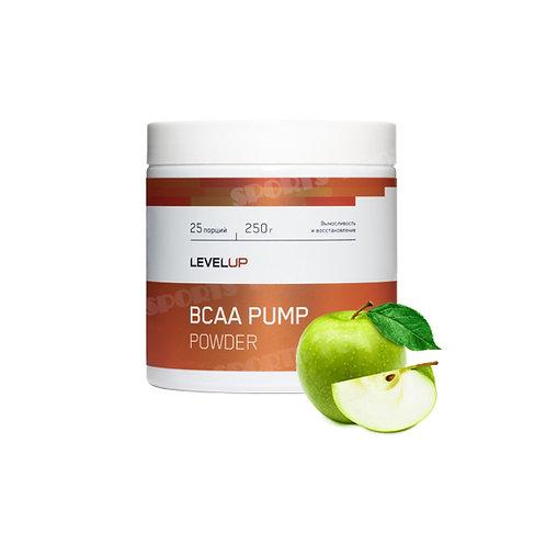 LevelUp-BCAA Pump 250 г - яблоко