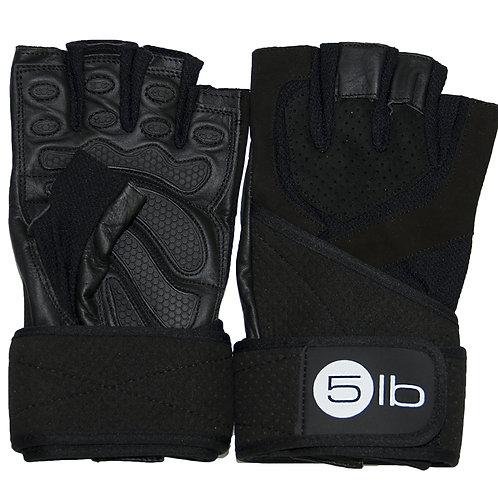 5LB-Перчатки HFG - 141.4 (S) - черный-черный