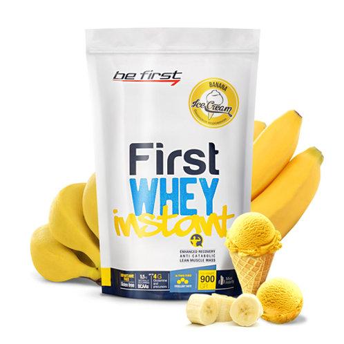 Be First-Whey instant 900 гр -  банановое мороженое