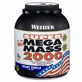 Weider (Германия)-Mega Mass 2000 3000 г - шоколад