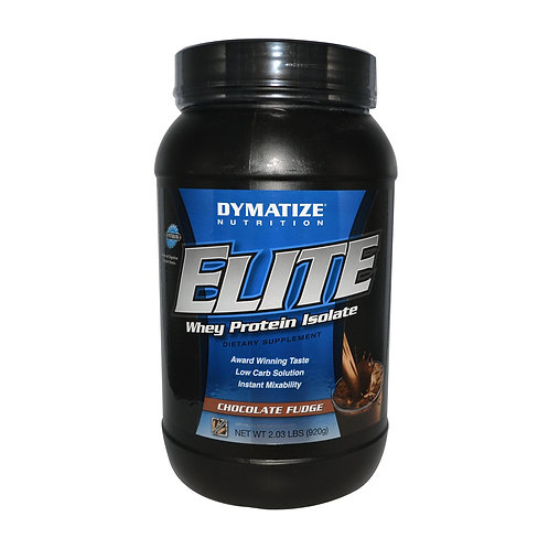 Dymatize-Elite Whey Protein 920 г - ягода