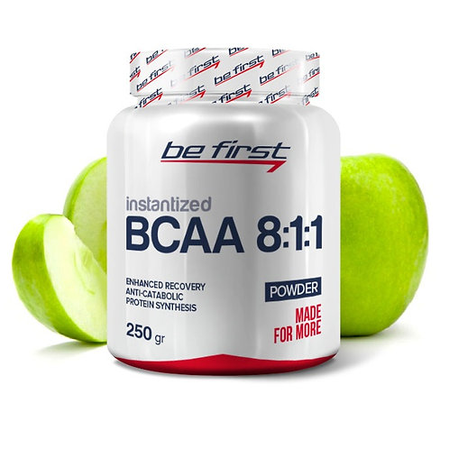 Be First-BCAA 8:1:1 INSTANTIZED powder 250 гр - яблоко