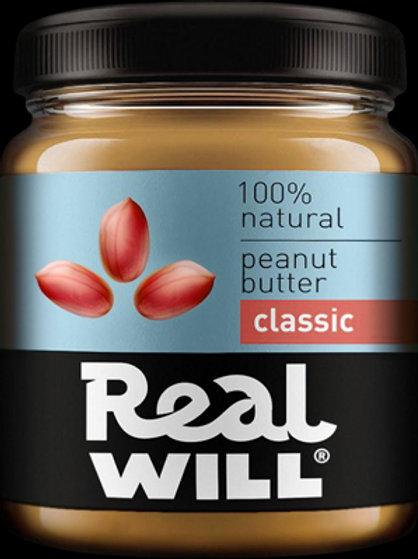 Real WILL-Арахисовая паста классическая 1кг