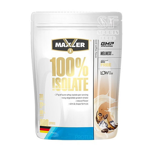 Maxler-100% Isolate 900 гр - кофе со льдом