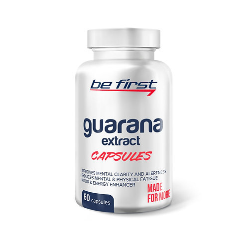 Be First-Guarana extract - 60 капс