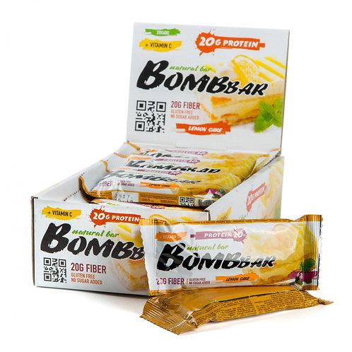 BOMBBAR-Батончик Bombbar 20*60 г - лимонный торт