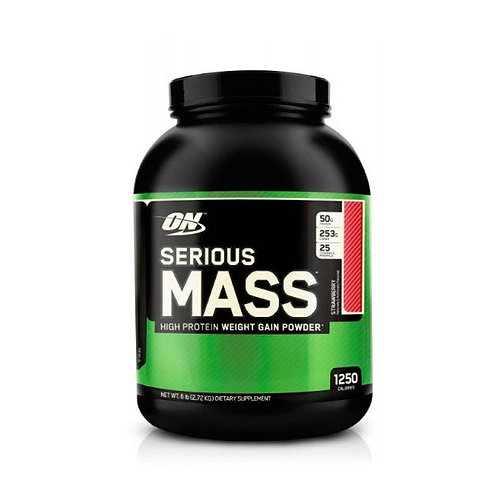 Optimum Nutrition-Serious Mass 2727 гр - шоколад