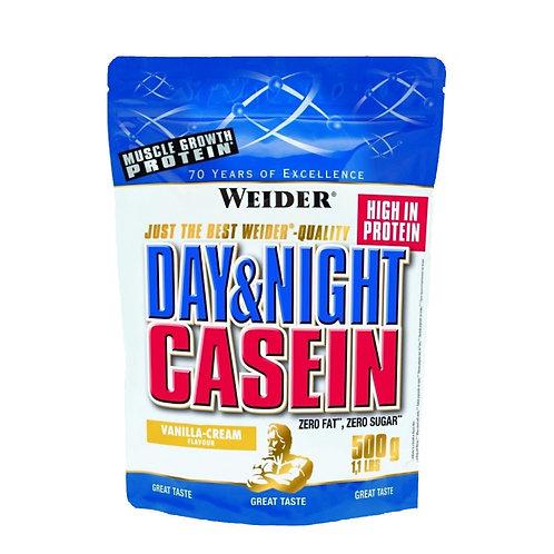 Weider (Германия)-Day & Night Casein 500 г - ваниль