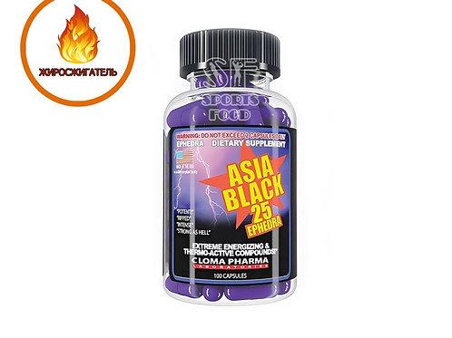 Cloma Pharma-Asia Black 100 капс