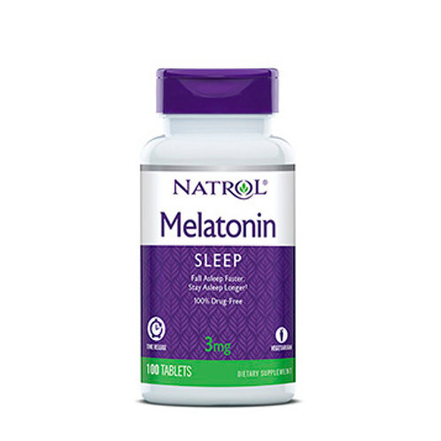Natrol-Melatonin 3 mg 100 таб TR