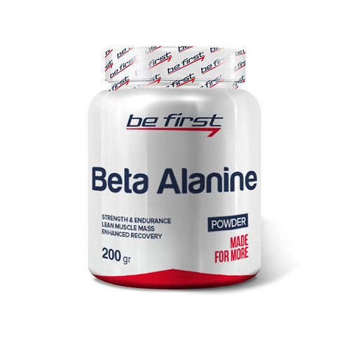 Be First-Beta alanine powder 200 гр - без вкуса