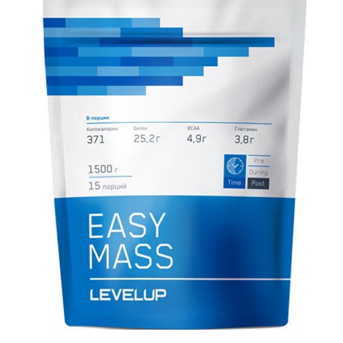 LevelUp-EasyMass 1500 г - малина