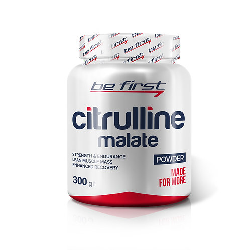 Be First-Citrulline malate powder 300 гр - без вкуса