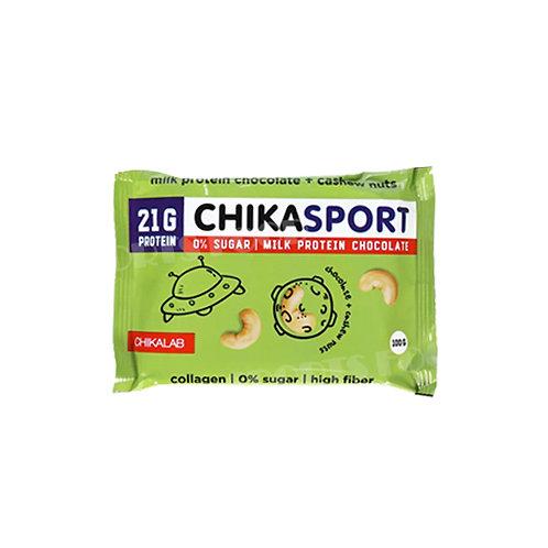 CHIKALAB-Шоколад молочный с кешью 100 гр