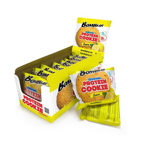 BOMBBAR-Печенье неглазированное Bombbar 10*60 гр. - лимон