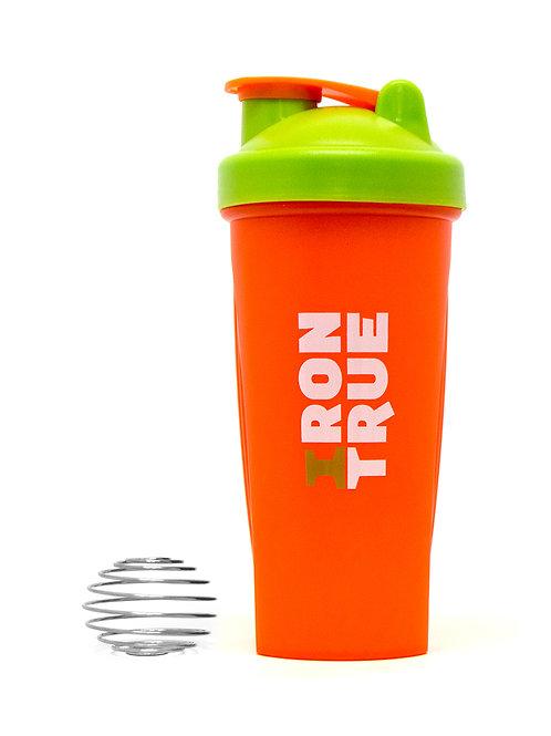 Iron True-Шейкер 700ml IRONTRUE (ITS901-600) (Оранжевый-Зеленый-Оранжевый)