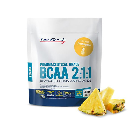 Be First-BCAA 2:1:1 CLASSIC powder 450 гр - ананас