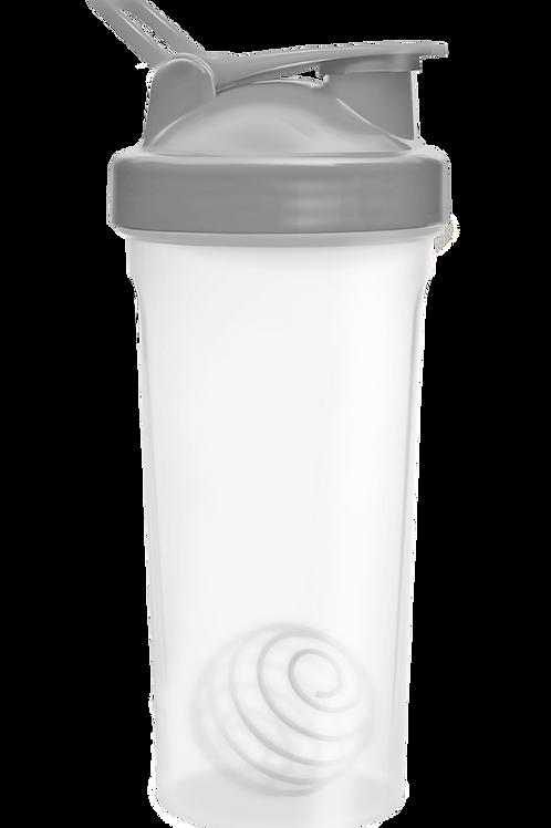 Be First-Шейкер БЕЗ ЛОГОТИПА 600 мл с шариком, прозрачно-серый (11356-GRAY-NL)