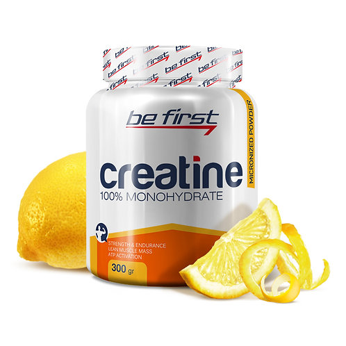 Be First-Creatine powder 300 гр - лимон
