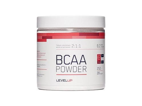 LevelUp-BCAA Powder 252 г - мохито (Бешеная сушка)