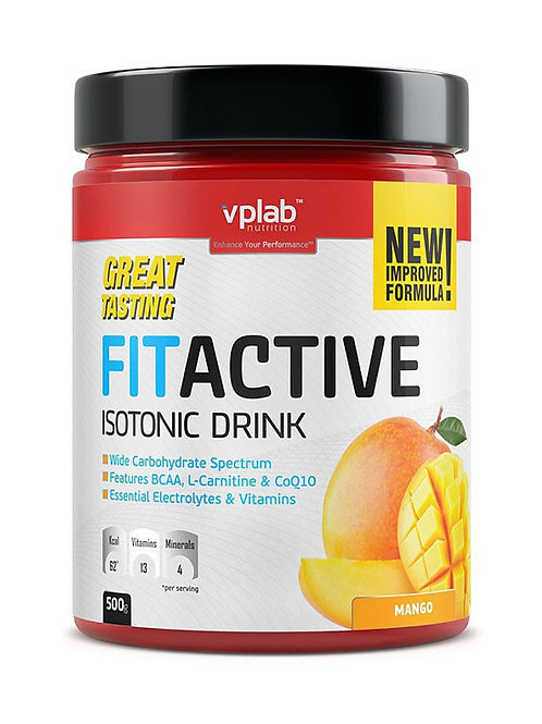 VP Laboratory-FitActive Isotonic Drink 500 г - манго