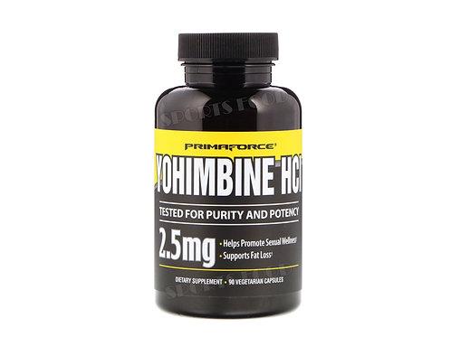 Primaforce-Yohimbine HCI  2,5 мг 90 вег капс
