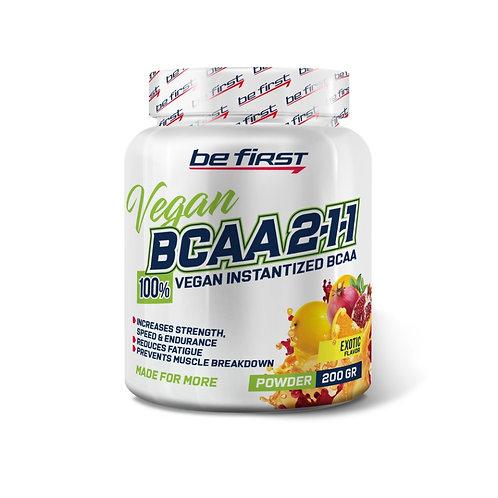 Be First-BCAA 2:1:1 VEGAN instantized powder 200 гр - экзотик