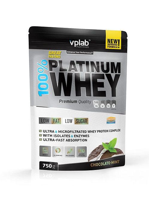 VP Laboratory-Platinum Whey 750 гр - шоколад-мята
