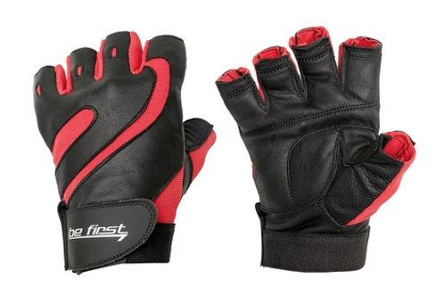 Be First-Перчатки черно-красные (арт 100)
