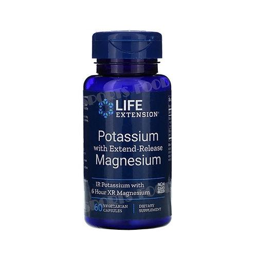 LIFE extension-Potassium & Magnesium 60 вег капс