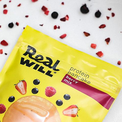 Real WILL-Смесь сухая для приготовления блинов 400гр - ягодный микс