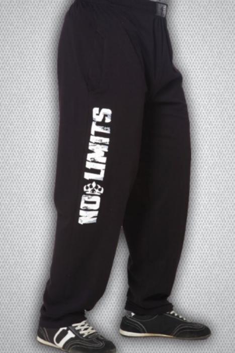 BIG SAM-1640 штаны чёрные