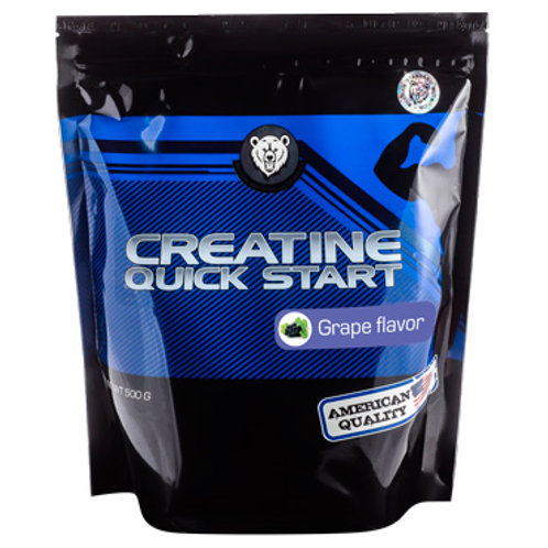 RPS Nutrition-Creatine Quick Start 500 гр - вишня