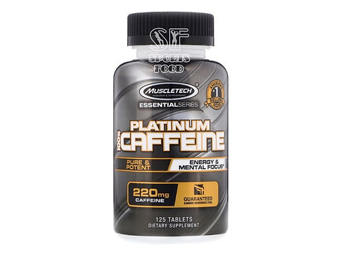 MuscleTech-Platinum Caffene 125 таб 220 мг