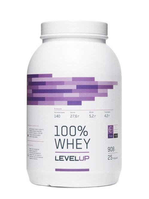 LevelUp-100% Whey 908 г - банан