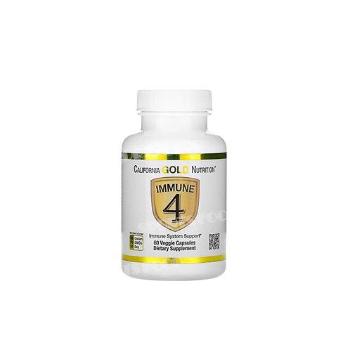 California GOLD Nutrition-IMMUNE 4 - 60 вег капс
