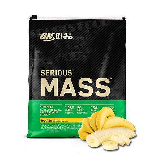 Optimum Nutrition-Serious Mass 5455 гр - банан