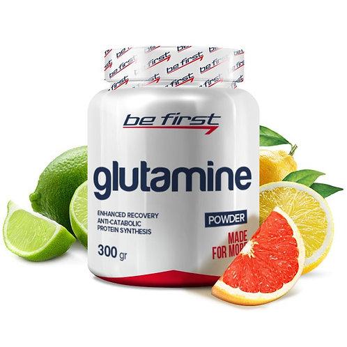 Be First-Glutamine powder 300 гр - цитрусовый микс