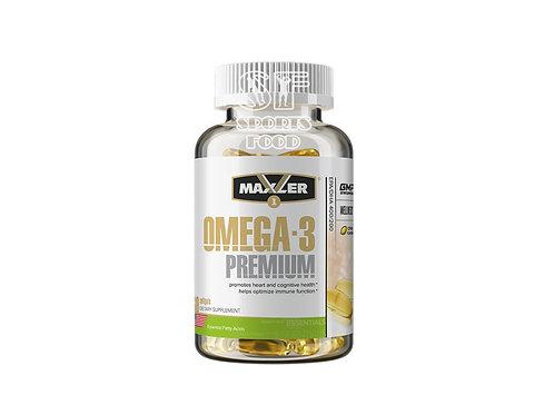 Maxler-Omega-3 Premium 400/200 цитрус вкус 60 капс