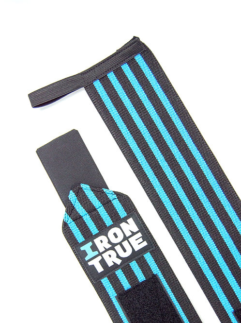 Iron True-Бинт кистевой 50cm IRONTRUE (WS100-50) (Черный-Синий)