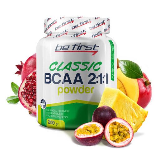 Be First-BCAA 2:1:1 CLASSIC powder 200 гр - экзотик