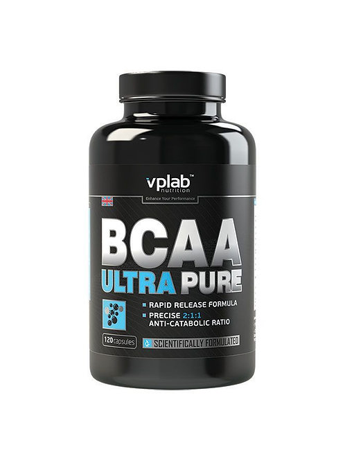VP Laboratory-BCAA Ultra pure 120 капс