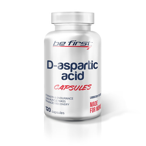 Be First-D-aspartic acid capsules 120 капс