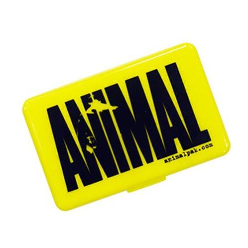 Universal Nutrition-Таблетница Animal с логотипом - белая
