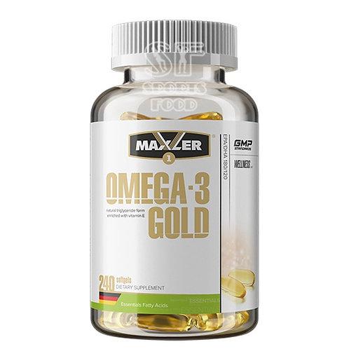 Maxler-Omega-3 Gold 240 капс