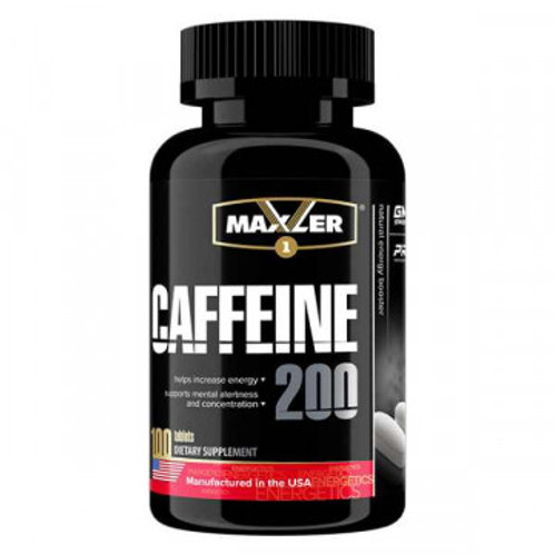 Maxler-Caffeine 200 мг 100 капс