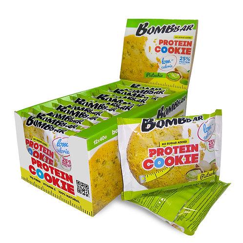 BOMBBAR-Печенье неглазированное Bombbar 12*40 гр. - фисташка
