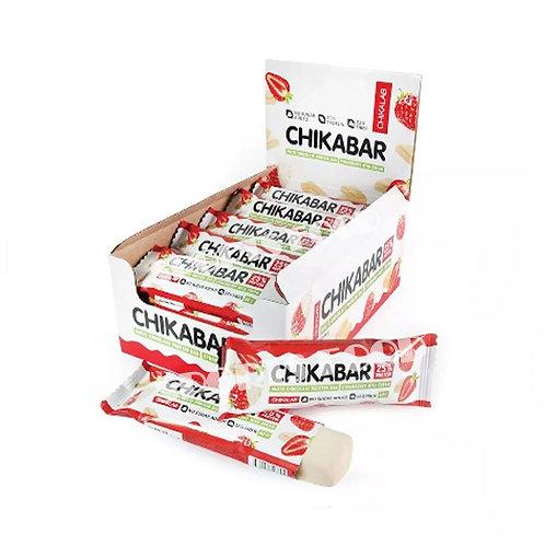CHIKALAB-Батончик глазированный с начинкой 20*60 гр.- клубника-сливки