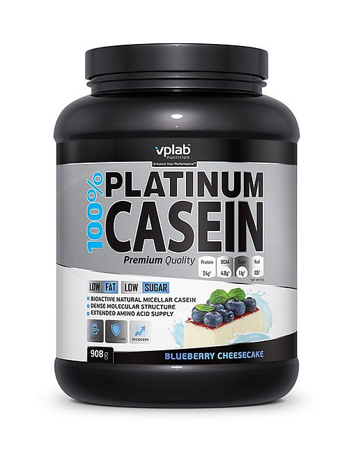 VP Laboratory-100% Platinum casein 908 гр - Черничный чизкейк
